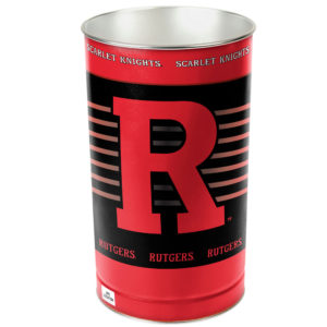 Tapered Wastebasket - Rutgers