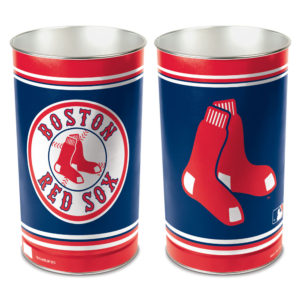 Tapered Wastebasket - Boston Red Sox