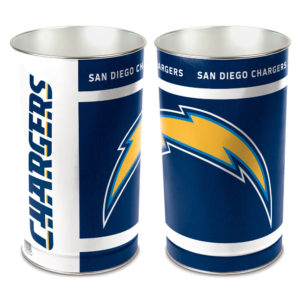 Tapered Wastebasket - Los Angeles Chargers