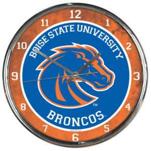 Chrome Clock - Boise State