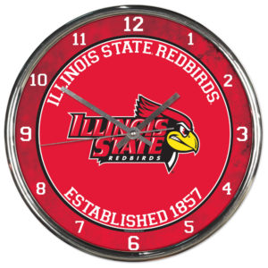 Chrome Clock - Illinois State