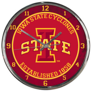 Chrome Clock - Iowa State University