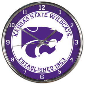 Chrome Clock - Kansas State University
