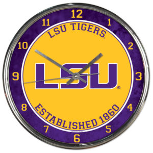 Chrome Clock - Louisiana State University