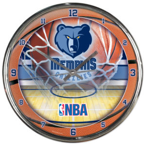 Chrome Clock - Memphis Grizzlies