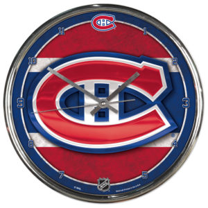 Chrome Clock - Montreal Canadiens