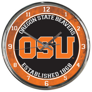 Chrome Clock - Oregon State University