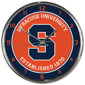 Chrome Clock - Syracuse University