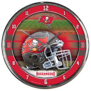 Chrome Clock - Tampa Bay Buccaneers
