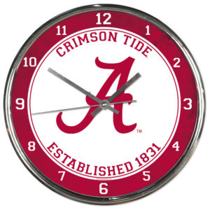 Chrome Clock - University of Alabama