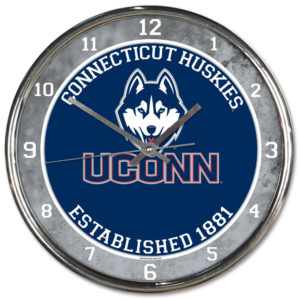 Chrome Clock - University of Connecticut