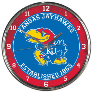 Chrome Clock - University of Kansas