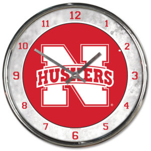Chrome Clock - University of Nebraska