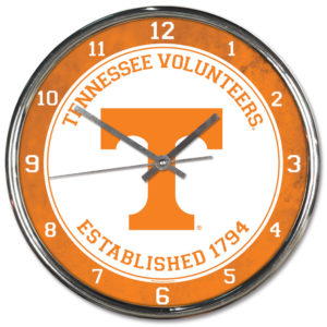 Chrome Clock - University of Tennessee