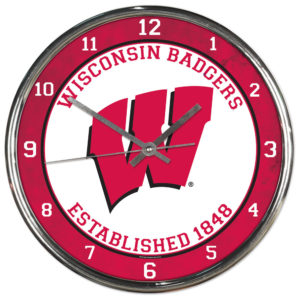 Chrome Clock - University of Wisconsin