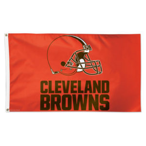 Flag - Deluxe 3'x5' - Cleveland Browns