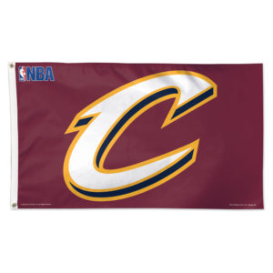 Flag - Deluxe 3'x5' - Cleveland Cavaliers (2)