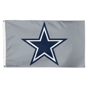 Flag - Deluxe 3'x5' - Dallas Cowboys