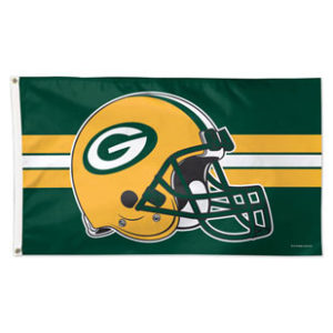 Flag - Deluxe 3'x5' - Green Bay Packers 2
