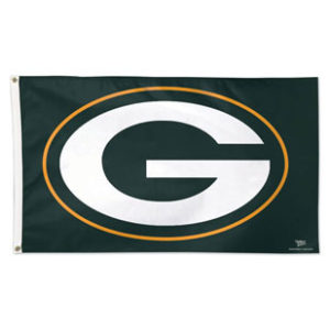 Flag - Deluxe 3'x5' - Green Bay Packers