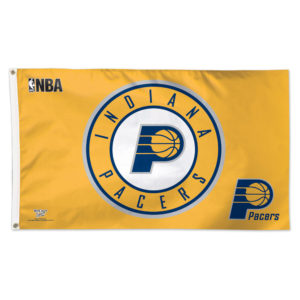 Flag - Deluxe 3'x5' - Indiana Pacers