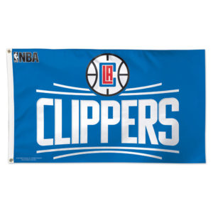 Flag - Deluxe 3'x5' - Los Angeles Clippers
