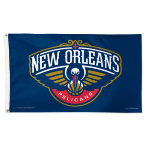 Flag - Deluxe 3'x5' - New Orleans Pelicans