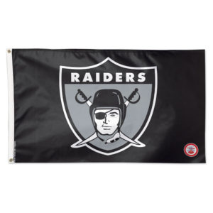 Flag - Deluxe 3'x5' - Oakland Raiders