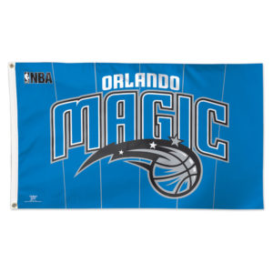 Flag - Deluxe 3'x5' - Orlando Magic