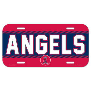 License Plate - Angels