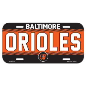 License Plate - Baltimore Orioles