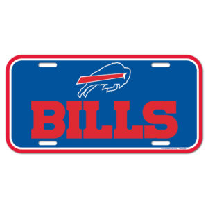 License Plate - Buffalo Bills