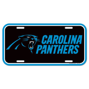 License Plate - Carolina Panthers