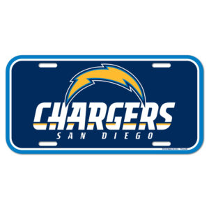 License Plate - Chargers