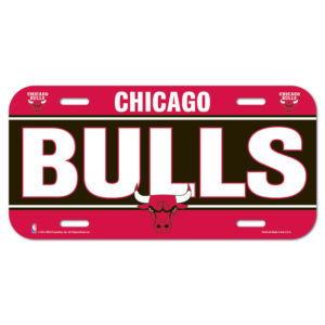 License Plate - Chicago Bulls