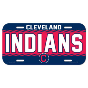 License Plate - Cleveland Indians
