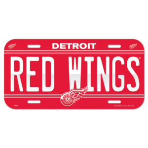 License Plate - Detroit Red Wings