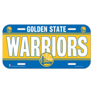 License Plate - Golden State Warriors