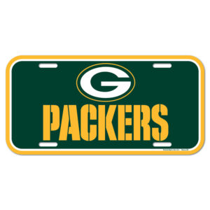 License Plate - Green Bay Packers