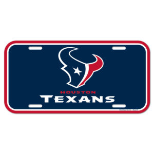 License Plate - Houston Texans