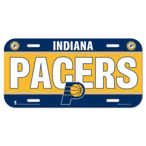 License Plate - Indiana Pacers