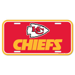 License Plate - Kansas City Chiefs