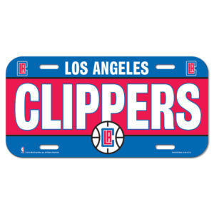License Plate - Los Angeles Clippers