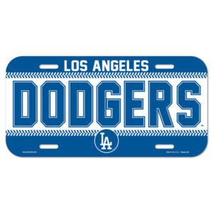 License Plate - Los Angeles Dodgers