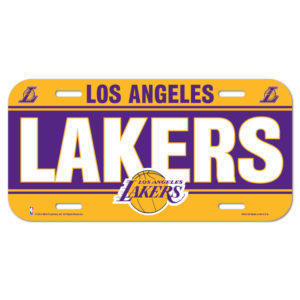 License Plate - Los Angeles Lakers
