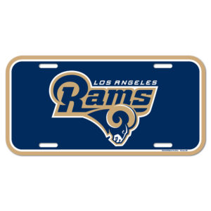 License Plate - Los Angeles Rams
