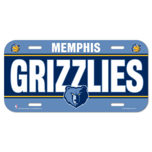 License Plate - Memphis Grizzlies