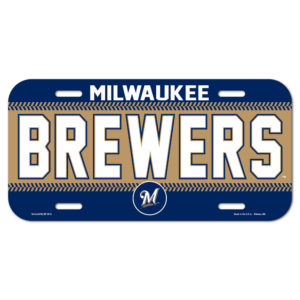 License Plate - Milwaukee Brewers
