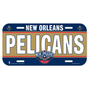 License Plate - New Orleans Pelicans
