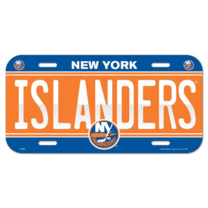 License Plate - New York Islanders